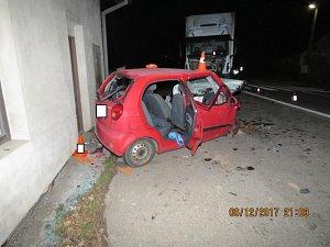 Smrtelná nehoda ve Strunkovicích nad Volyňkou