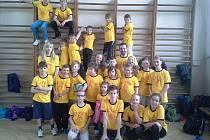 Na turnaj ve vybíjené do Tábora vyslaly Děti Řepice tři týmy. Všechny tři zabodovaly.
