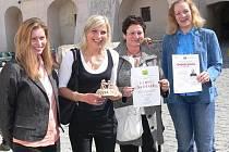 Ocenění Dobrá parta získalo Mateřské centrum Beruška ve Strakonicích.