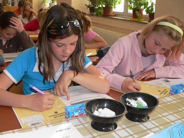 Školáci si lámali hlavu nad testy