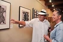 Vernisáž výstavy Nejslavnější výtvarníci Strakonicka se uskutečnila ve čtvrtek 12. září v Maltézském sále na strakonickém hradě.