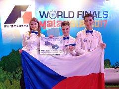 Studenti reprezentovali Českou republiku na Mistrovství světa ve školním projektu Formule 1. ve školách v Kuala Lumpuru.