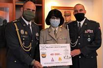 Strakoničtí opět přispěli do Vojenského fondu solidarity.