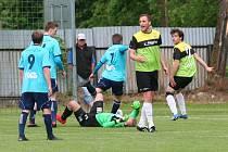 Derby Katovice - Osek skončilo smírně 1:1.