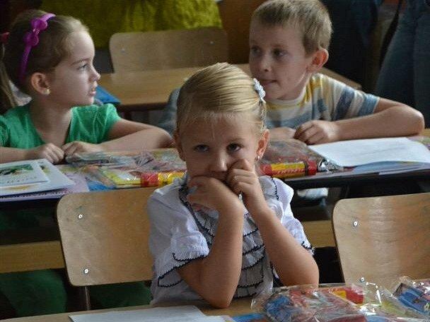První den školního roku na ZŠ Poděbradova Strakonice