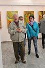 Valentin Horba vystavuje v Portyči do 5. května.