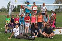Krajského kola Olympijského víceboje v Táboře se zúčastnily i děti ze Strakonic.