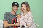Sofie Maříková ze Čkyně. Sofinka se narodila 20. prosince 2018 v 11 hodin a 25 minut a při narození vážila 2850 g. Na Sofinku se všichni doma už moc těší.