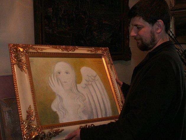 Výstava Vladimíra Komárka.