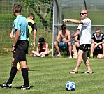 Fotbalová I.B třída: Osek B - Sedlice 3:1.