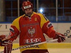 Sezona pro Radomyšl skončila vyřazením po dvou duelech čtvrtfinále play off. Na snímku je Zdeněk Javůrek st.