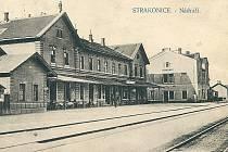 Budova vlakového nádraží Strakonice