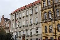 Strakonice, Velké náměstí, radnice. Ilustrační foto