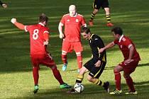 Fotbalová I.B třída: Sedlice - Dražejov 1:0.