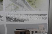 Plány rekonstrukce Kulturního domu Strakonice.