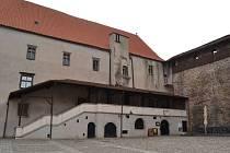 Strakonice, hradní palác. Ilustrační foto