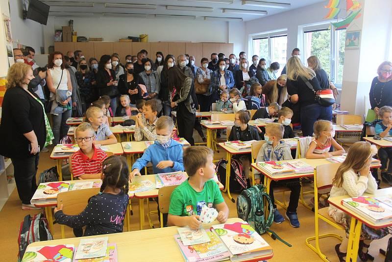 Základní škola Dukelská Strakonice 1. září 2021.