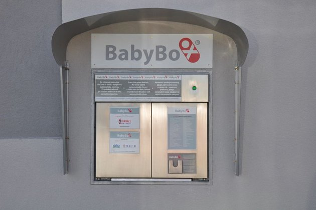 Nový baby box ve Strakonicích.
