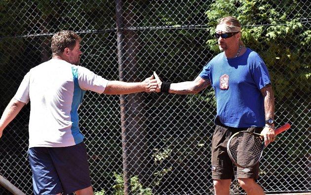 Tenis v Záboří.