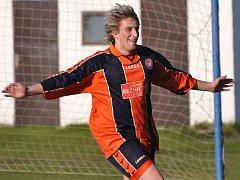 Bělčický Karel Hanzlík zvyšoval v utkání s Kestřany na 3:1, jeho tým nakonec vyhrál 3:2.