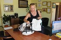 Centrum sociální pomoci Vodňany opět poslalo kabelky do veletrhu.