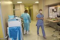 Ze strakonické nemocnice.