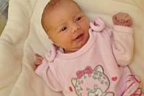 Emma Svobodová, Strakonice, 23.11. 2016 v 8.09 hodin,  3300 g. Malá Emma je prvorozená.