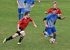 Derby Vodňan s Blatnou skončilo nerozhodně 2:2.
