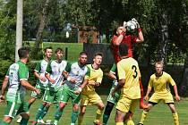 Fotbalová I.B třída: Střelské Hoštice - Sedlice 0:1.