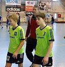Ve strakonické házenkářské hale se 20. 1. uskutečnilo 2. kolo žákovské ligy starších žáků.