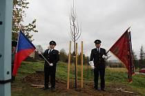 V Přechovicích u Volyně oslavili v sobotu 27. října 100 let od vzniku republiky vysazením Lípy re
