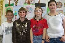 Páťáci ze Základní školy Povážská Strakonice.