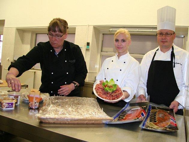 Norská delegace.