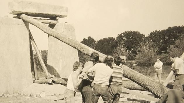 Stonehenge Strakonice