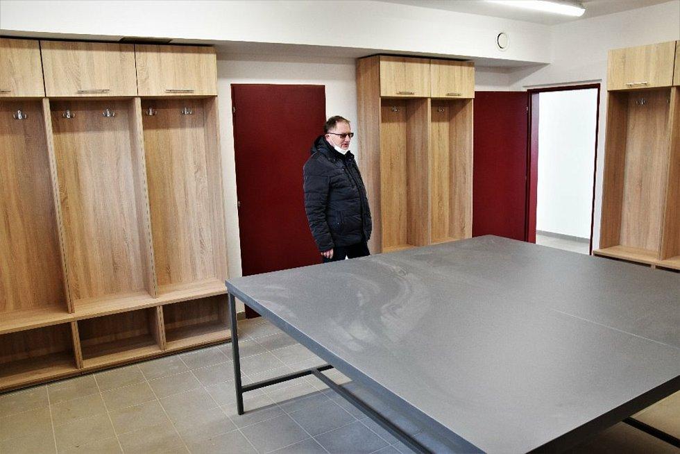 Sportovci ve Volyni se mohou těšit z nového zázemí.