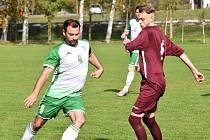 Fotbalová B třída: Střelské Hoštice - Dražejov 2:1.