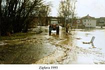 Povodně v roce 1993.