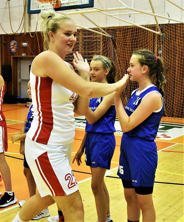 Julia Reisingerová prošla strakonickým basketem, nyní je pilířem reprezentace ČR.