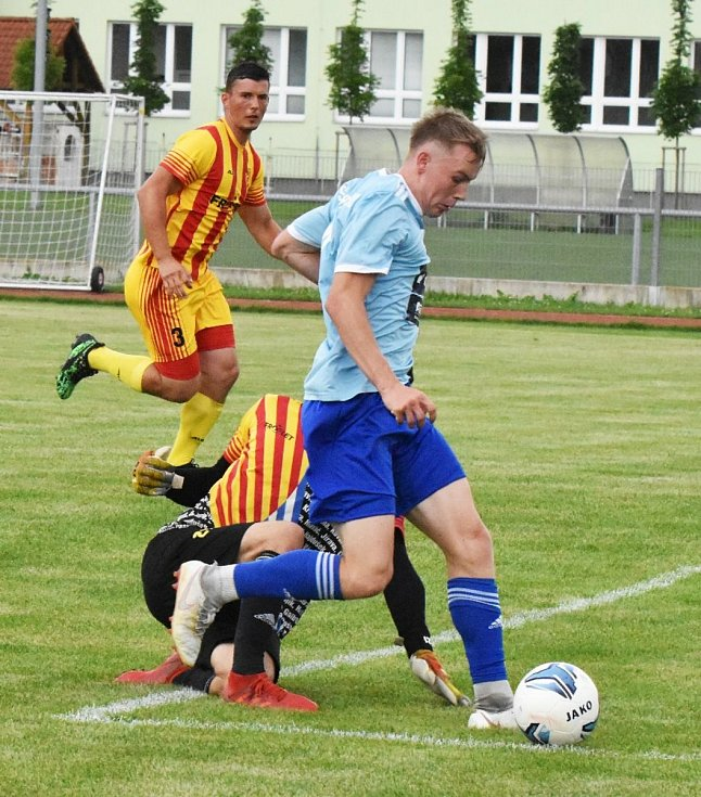 Přípravný fotbal: Junior Strakonice - Klatovy 0:4.