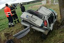 K nehodě byl původně přivolán i vrtulník letecké záchranné služby.