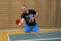 Pokračovaly okresní soutěže stolních tenistů. Ilustrační foto.