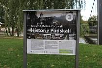Obnovená naučná stezka Podskalí.