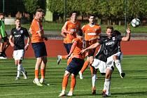 Fotbalová Fortuna divize: Soběslav - Katovice 4:1.