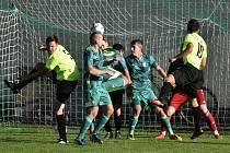 Fotbalový KP: Jankov - Osek 0:0.