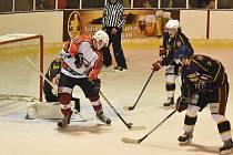 Krajská liga hokeje: HC Vimperk - Humpolec 3:1.