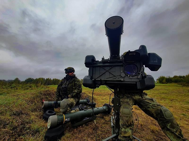 Hlavní zbraň jednotky – protiletadlový raketový komplet RBS-70. Foto: VeKySIO