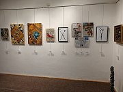 V sobotu 22. prosince pokračovala výstava Klubu vodňanských výtvarníků v městské galerii.
