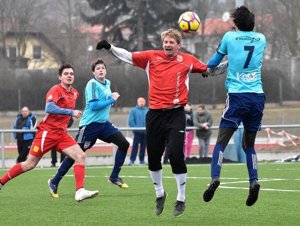 Fotbalová příprava: Strakonice - Katovice 5:9.