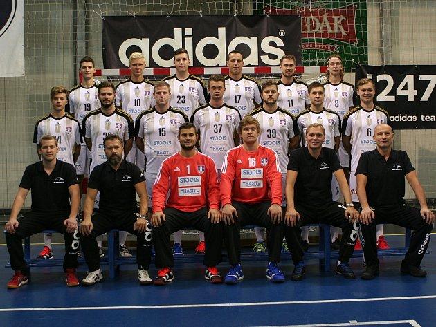 Extraligový tým házenkářů Strakonic pro sezonu 2017/2018.