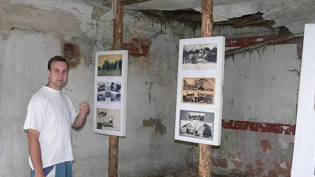 Pavel Sáňka na faře v Jiníně